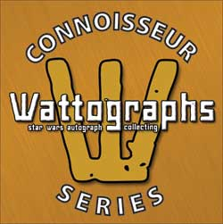 Wattographs Connoisseur Series logo