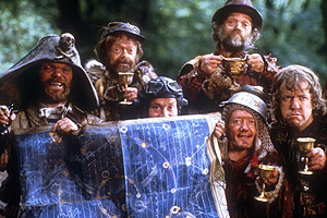 Kenny Baker in Time Bandits